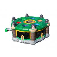 China Green Funny Indoor Game inflatable  Whack-a-mole Game For Children on sale