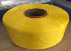 China Weaving HT Polypropylene Yarn Dope Dyed Industrial PP Filament Yarn 1200D supplier