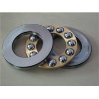 Single Direction Thrust Ball Bearing 51124 For Motorcycle , Single Row