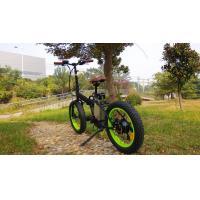 36V 13Ah Lithium Battery motorized fat bike , throttle controller  big tire beach bikes