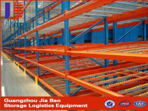 China Heavy duty metal Warehouse Storage Racks with Cold rolled Steel on sale