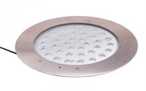 China Waterproofing 36W High Power Recessed Led Floor Lights With 3 Years Warranty on sale