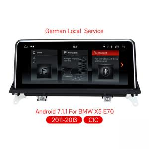 China Android 7.1 quad core car dvd player For BMW X5 E70/X6 E71 (2011-2013) Original CIC System 2G RAM+32G ROM car radio on sale
