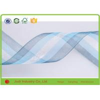 China Professional Colorful Double Sided Satin Ribbon Rolled Packing With Material Recycled on sale