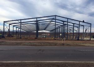 China Agricultural Prefabricated Steel Frame Buildings / Portal Steel Structure Warehouse on sale