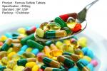 El sulfato ferroso hace tabletas las medicaciones orales 200mg