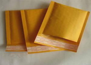 China Kraft Bubble Mailers Padded Envelopes 200x250mm For Post Tape / CD / Books on sale