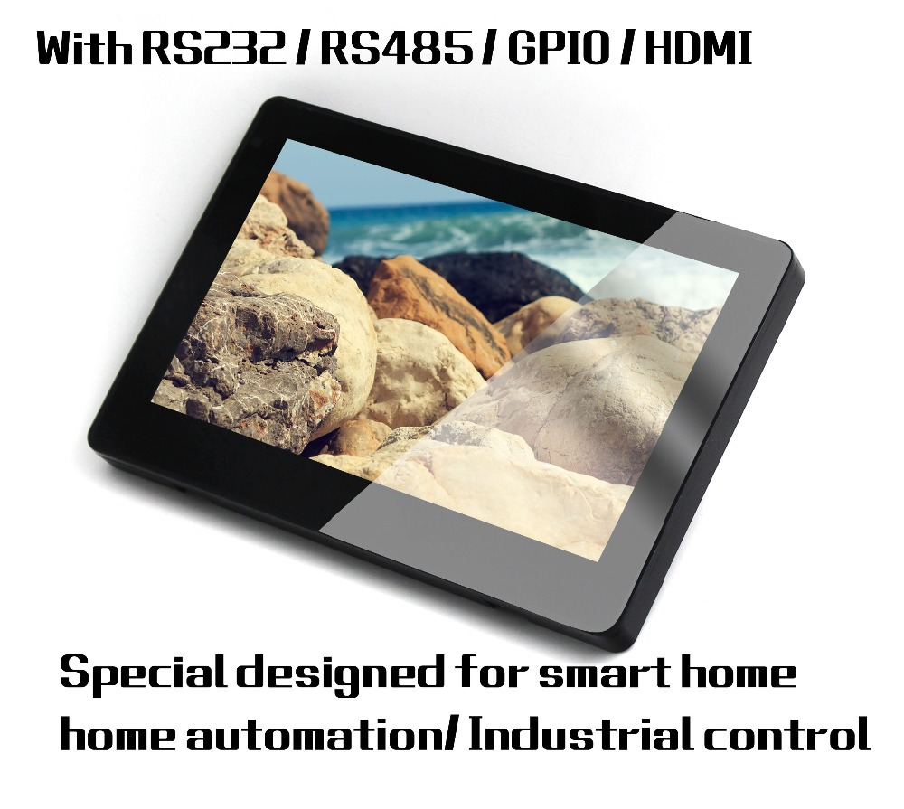 Enhanced Tablet PC With RS232 RS485 POE RJ45