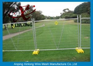 metal farm fence. Heavy Duty Temporary Fencing Panels / Galvanized Goat Farm Fence Metal Iron  Material Metal Farm Fence