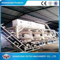 Wheat Straw Rice Husk Wood Pellet Production Line With 12 Months Warranty