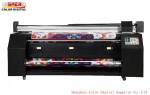 China Roll To Roll Digital Fabric Printing Machine Act Fast Show Making on sale