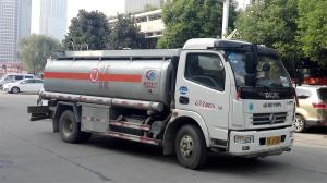 China Remote Area Machine Diesel Refueling Truck For Vehicle Fuel Delivery on sale