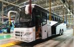 LHD/RHD 65 seats Euro2 360HP 6x2 Coach Bus with Cummins Engine YBL6137T for Mauritius