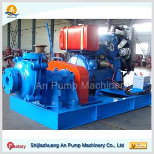 China heavy duty high chrome river sand conveyer pump on sale