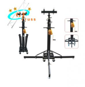 China Adjustable Lighting Truss Stand Heavy Duty Speaker Square Round Tube on sale