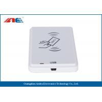China ICODE ILT Tags USB RFID Reader Multiple Protocols Plug And Play Type on sale