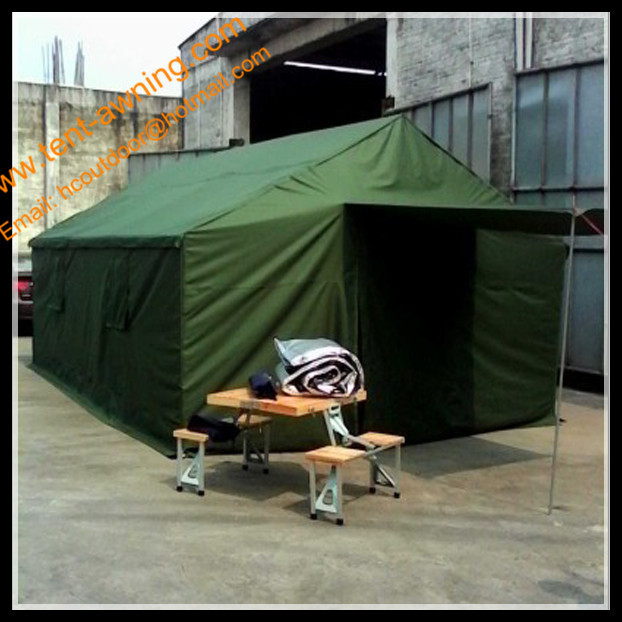 Outdoor Green Army Tube Tent Oxford Tent Waterproof Army