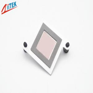 China 0.95 W/mK Low Thermal Resistance Pink Phase Changing Materials For IGBTs on sale