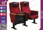完全な装飾された金属フレームワーク講堂の椅子、会議室の座席