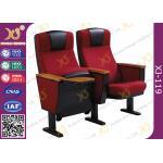 Cadeiras estofadas completas do auditório da estrutura do metal, assento da sala de conferências