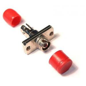 China Single Mode FC Fiber Optic Adapter Low Insertion Loss With Plastic / Metal Shell on sale