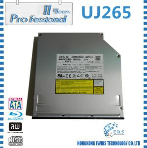 China 100% original 12.7mm UJ265 slim sata slot loading dvd rw blu-ray drive UJ-265 on sale