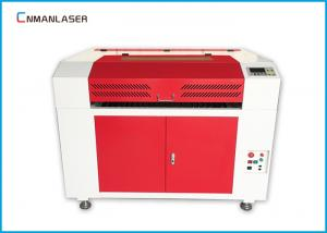 China DSP Control Co2 Fabric Laser Cutting Machine 6090 With 100w RECI Laser Tube on sale