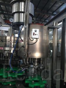 China Automatic Glass Bottle Alcohol Bottling Filling Beer Making Machine 110V|220V|380V on sale