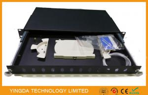 China Corrosion Resistance Optical Fibre Patch Panel Pull - push Type , Termination Box on sale