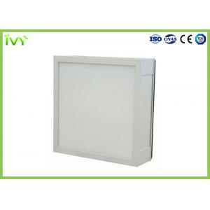 China Spray Paint Booth Mini Pleat Air Filters 99.99% High Efficiency At 0.3um on sale