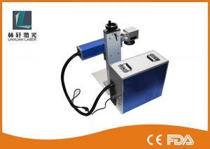 China Barcode Laser Printing Laser Etching Metal Marking Machine Durable on sale