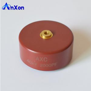 China AXCT8GD202K40DB Y5T Capacitor 40KV 2000PF 40KV 202 Low partial discharge high voltage capacitor on sale