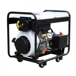 China 3KW 5KW 6.5KW 7.5KW 220V/380V Single Phase Three Phase Air-Cooled Portable Kipor Sound Proof Diesel Generator on sale