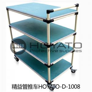 China OEM / ODM ESD Consumables Oil Resistant Non Toxic Turnover Box With Lean Pipe on sale