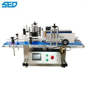 China SED-250P 220v 50/60hz 110V 60HZ Professioner Desktop Automatic Labeling Machine Round Bottle High Accuracy on sale