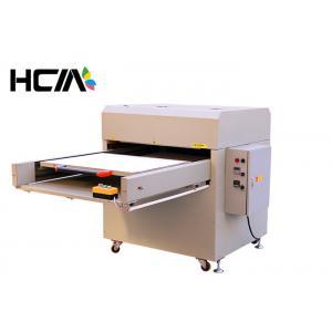 China Large High Pressure Heat Press TShirt Printing Machine White High Precision on sale