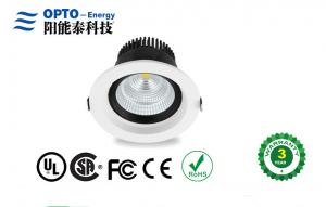 China CRI 80 Led Ceiling Down Light 6 Inch 40W 85V - 277V for Office , Shopping Mall on sale