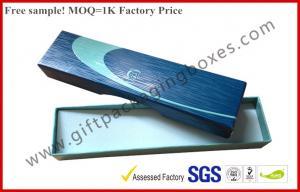 China Le couvercle et la base parquent des boîtes d'emballage de cadeau, boîte-cadeau de relief par logo UV de revêtement on sale