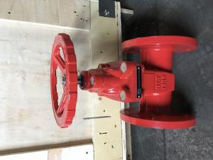 China ANSI   resilient gate valve NRS flanged ends on sale