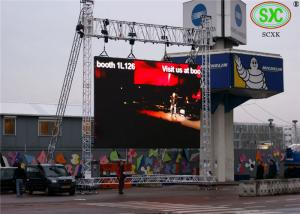 China IP65 P8mm Outdoor Led Video Screens For Advertising / Digital Billboards on sale