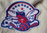 3D Washable Custom Embroidery Heat Transfer Patch For Ski-Wear