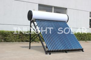 China Vacuum Tube Residential Solar Water Heater , Thermosyphon Solar Heat Collector on sale