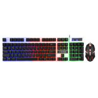 Anti - Ghosting Gaming Keyboard Mouse Combo For Desktop / Notebook / PC Computer