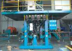 Automático VIU a máquina de soldadura do painel da membrana do pórtico com 4/12 tochas