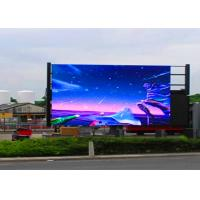 P10 Full Color Outdoor LED Advertising Screens 6000nits Brightness LED Display Board