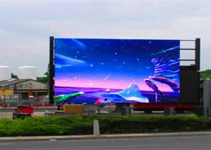 China P10 Full Color Outdoor LED Advertising Screens 6000nits Brightness LED Display Board  on sale