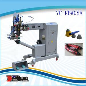 China Machine de cachetage de couture d'air chaud de tuyau d'air de PVC on sale