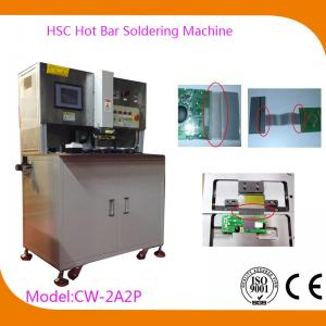 China USB Automatic Hot Bar Soldering Machine with 0.02mm Welding Head Flatness , CW-2A2P on sale