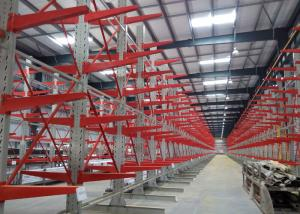 China Detachable Cantilever Pipe Rack , Industrial Metal Storage Racks With Corrosion Protection supplier