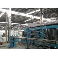 Hot Dip Galvanized Gabion Wire Mesh Cages Rock Retaining Wall , Stone Cage Wire Mesh